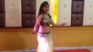 My belly dance performance