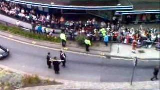 #1 NORWICH CITY CARNIVAL 2009 AS SEEN FROM St. STEPHENS MULTI STORY CAR PARK