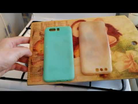 Как отбелить чехол для телефона из силикона своими руками 34