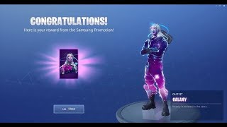 How to Get Galaxy Skin Pack Unlocked Right Now! Pick Axe + Glider And Giveaway!! 20 More Subs!