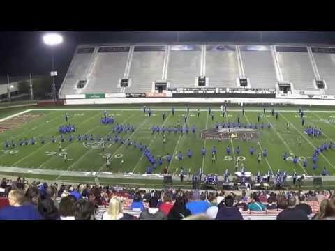 Oak Creek High School (Wisconsin) Marching Knights @ NIU September 20, 2014