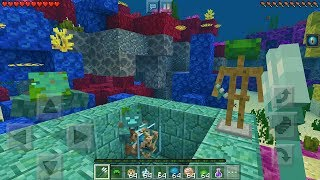 MCPE 1.5 FEATURES GAMEPLAY - The Update Aquatic Phase 2 - Minecraft Pocket Edition