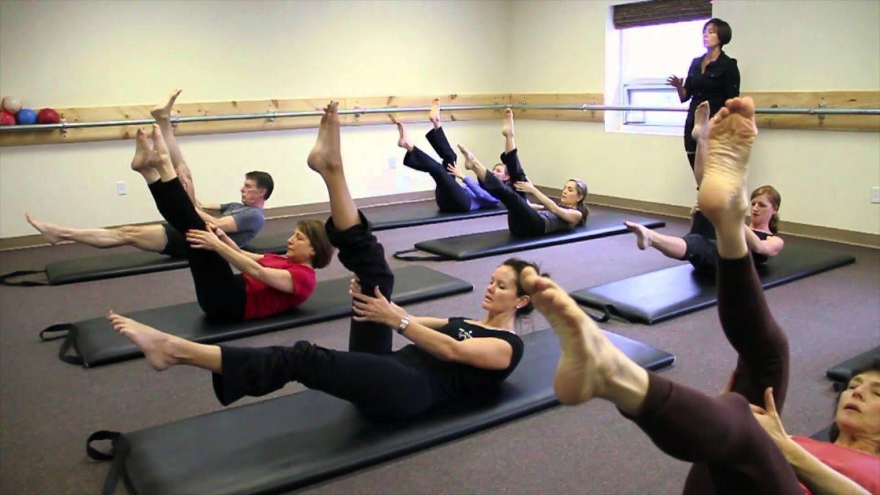 Main Line Pilates Class Youtube