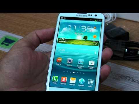 Samsung i9300 Galaxy S III review HD ( in ROmana ) - www.TelefonulTau.eu -