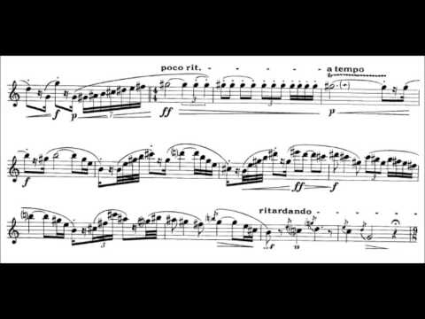 Rudolf Escher  Sonata for Flute solo 1949