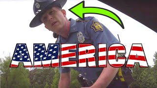 ANGRY COPS INTIMIDATE THE WRONG LAMBORGHINI OWNER **UNLAWFUL**