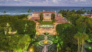 $135,000,000 Amazing Italian Renaissance Style Mega Mansion in Palm Beach Florida