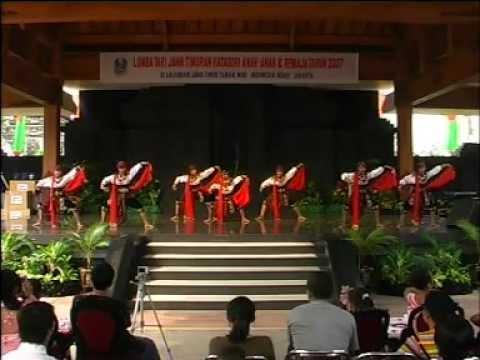 Alifa Alma Adlina - Lomba Tari Jawa Timuran (remo Sanggit) - 2007 video