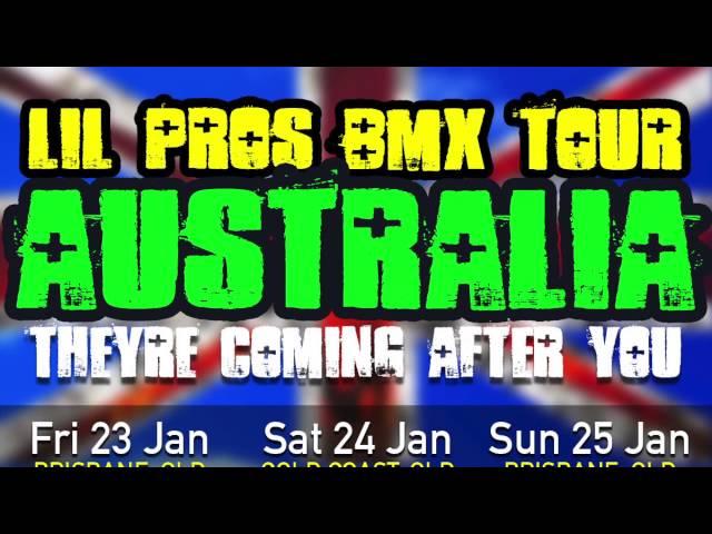 Lil Pros BMX Tour 2015: AUSTRALIA PREVIEW