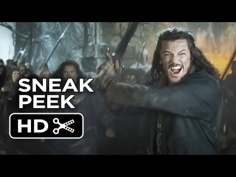 The Hobbit: The Battle of the Five Armies SNEAK PEEK (2014) - Peter Jackson Movie HD