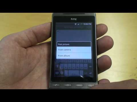 HTC Hero Twitter