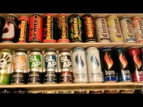 Ado's Energy Drink Collection - 1136 different can