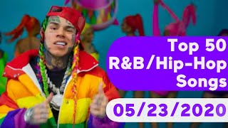 US Top 50 R&B/Hip-Hop/Rap Songs (May 23, 2020)