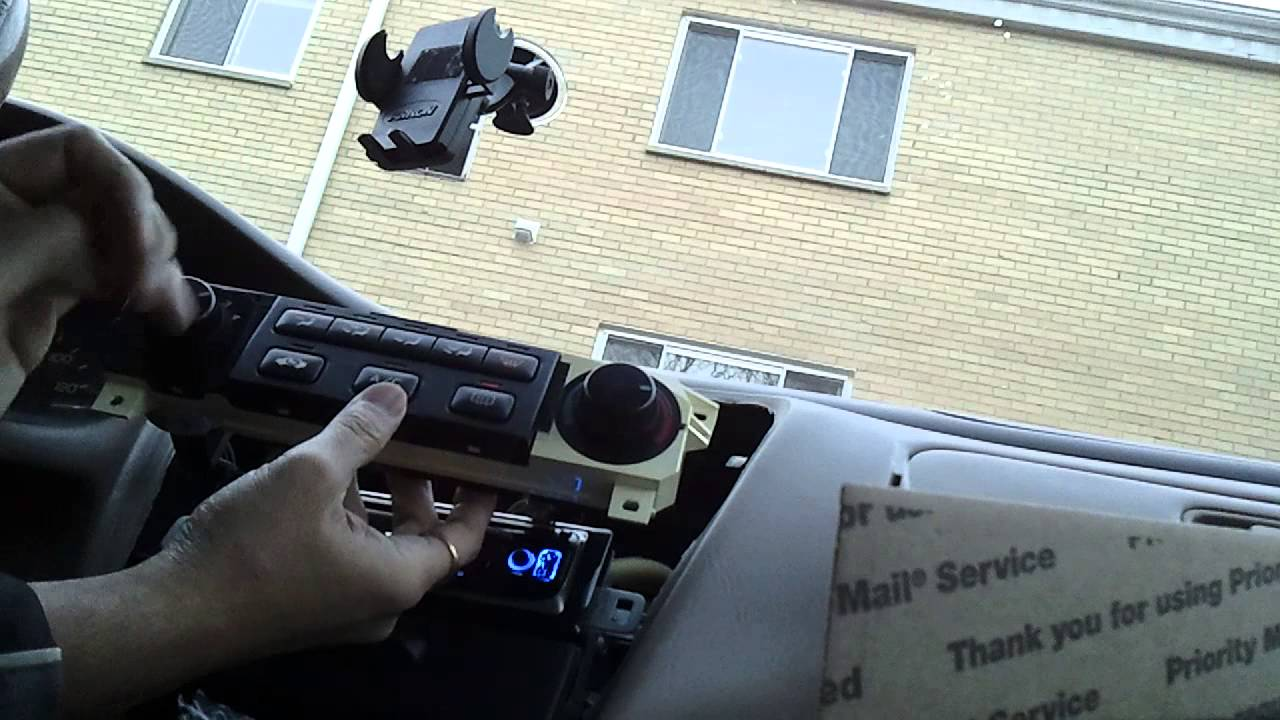 Honda Accord Used For Sale >> 2000 Honda Accord Testing Used Heater Control - YouTube