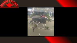 Detik-detik  kericuhan di aksi BELA ULAMA 205 di PONTIANAK