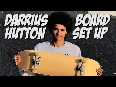 DARRIUS HUTTON BOARD SET UP AND INTERVIEW !!!