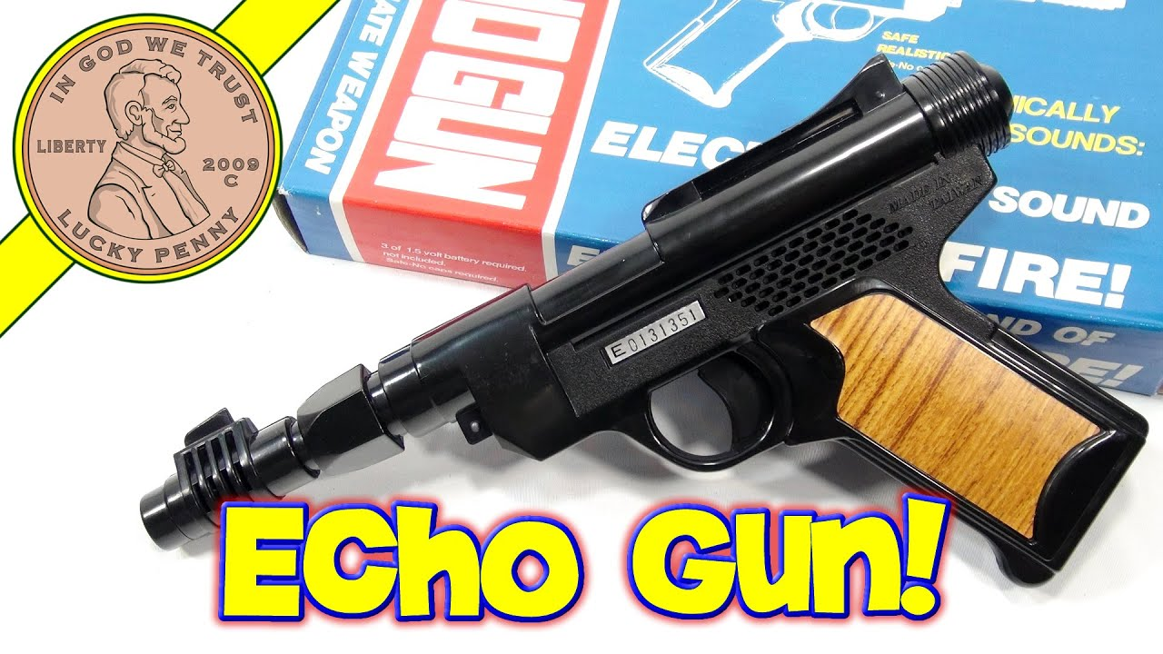 Electronic Toy Echo Kids Toy Gun Electronic