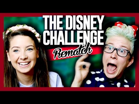 The Disney Challenge REMATCH (ft. Zoella) | Tyler Oakley thumbnail
