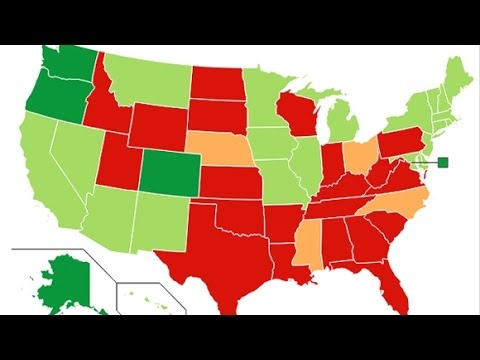Marijuana Legalization State by State