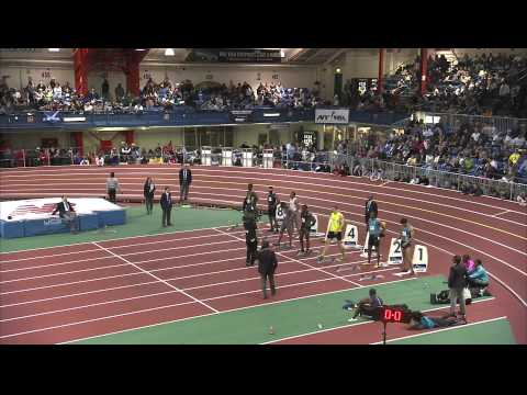 M 60H F01 (Mushin Men&#039;s 60m Hurdles, Millrose Games 2012)