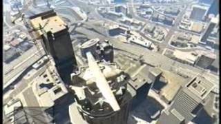 GTA 5 LANDING THE C-130 ON THE TALLEST BUILDING!!!