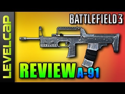 A-91 Review - A Hip Fire Hybrid (Battlefield 3 Gameplay/Commentary/Review)