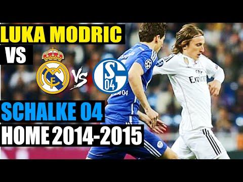 Luka Modric vs Schalke 04 FC HOME | 10-03-2015 | Individual Highlights [HD]