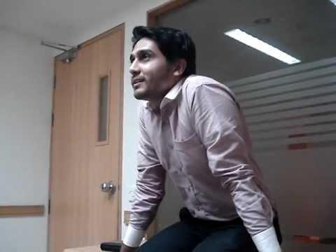 Salman Zahid singing Din pareshan hai.MPG