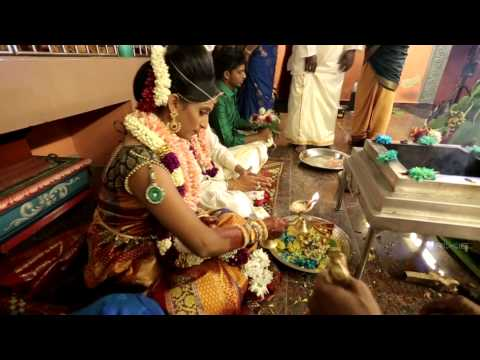 Malaysian Indian wedding ceremony of Prem Anand & Pavithra Varathan.
