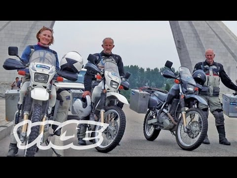 North Korean Motorcycle Diaries (Trailer)