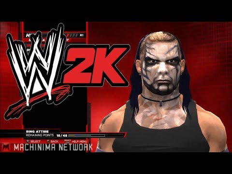 wwe 2k14 jeff hardy hack hacked into game real model unlocked PSN Download PS3 texture Yukes