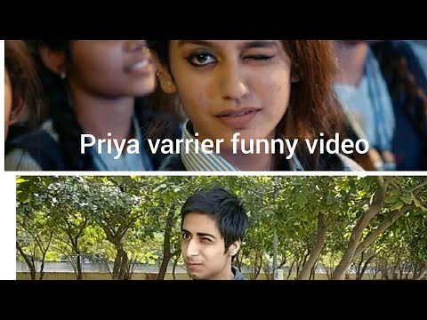 Priya Prakash Varrier Funny Video