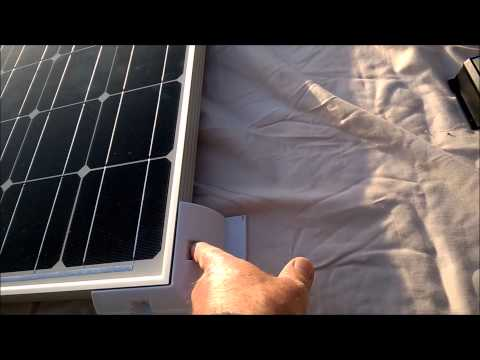Fitting a solar panel to a motorhome or caravan: Part 1