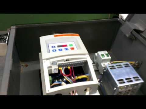 Частотный преобразователь. Подключение трехфазного двигателя в однофазную сеть 220В.