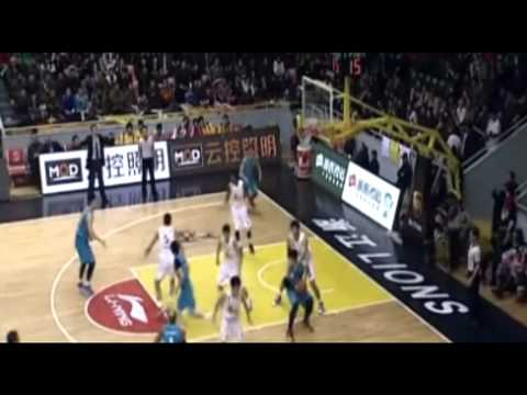 7ft Center Wang Zhelin 王哲林  CBA 2012-2013 Rookie Season Mix