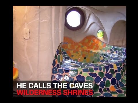 Man Dedicates His Life to Building These Caves !! MUST SEE