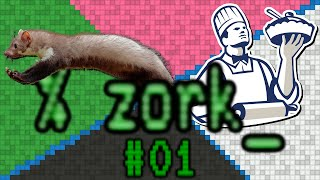 Let's Play Zork with Lord Pie Part 1 — Who's this jerk barring the door??? — Yahweasel