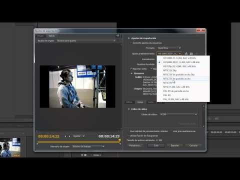 Exportar video en premiere cs6