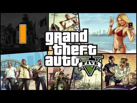 Прохождение Grand Theft Auto V (GTA 5) — Часть 1: Ограбление в Людендорфе / Франклин и Ламар