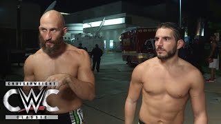 An interview with Gargano & Ciampa descends into a brawl: CWC Exclusive, Sept. 14, 2016