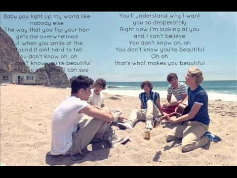One Direction - What Makes You Beautiful video