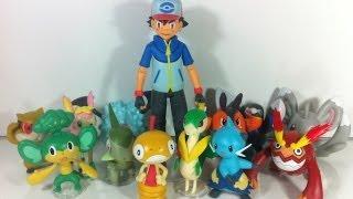 Review: Pokémon - Black & White: Figure Series 02 & 03 with Ash (JAKKS Pacific)