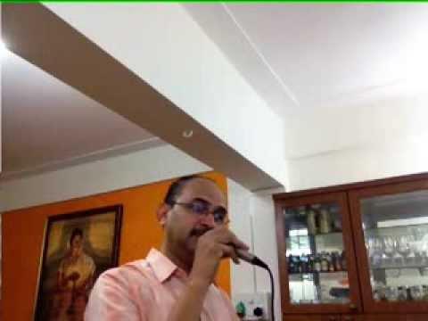 Ye raatein ye mausam nadi ka kinara ... sung by Shailen Ambegaokar...