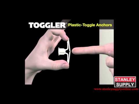 How to Install Toggler Plastic Anchor- StanleySupplyOnline.com