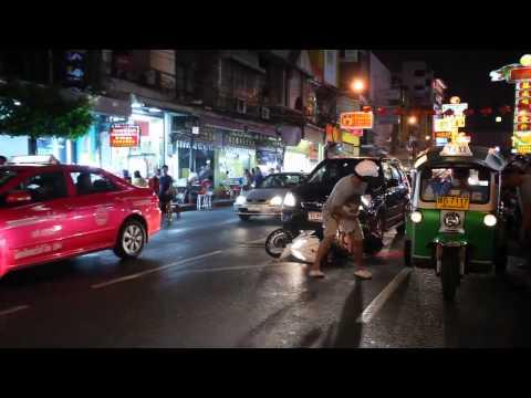 Скутер под авто