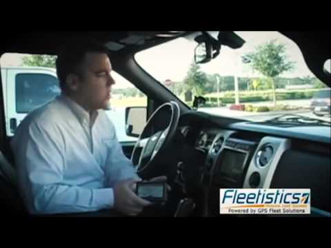 Fleetistics - GPS Installation - Installing the Garmin unit for GPS dispatching system