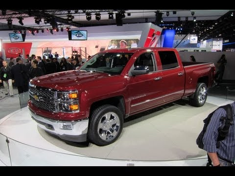 2014 Chevrolet Silverado -- 2013 Detroit Auto Show -- Edmunds.com