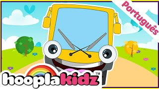 As Rodas No Ônibus - The Wheels On The Bus Em Português By Hooplakidz Brasil