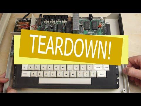 Radio Shack TRS-80 Color Computer 2 Teardown