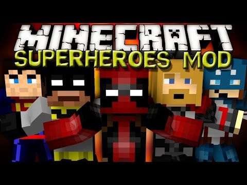Minecraft Mod Review-SuperHeroes Unlimited Mod-Para 1.5.2